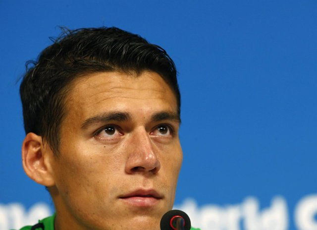Jugador de equipo nacional de fútbol de México , Héctor Moreno