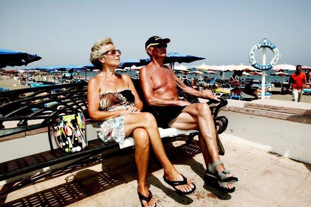 Costa Del Sol. Playa de Torremolinos