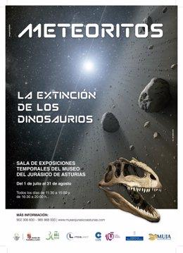 Exposición de meteoritos en el MUJA