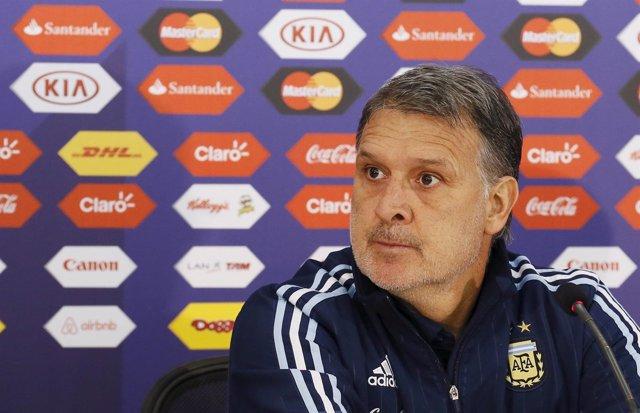 El seleccionador de Argentina, Gerardo Martino