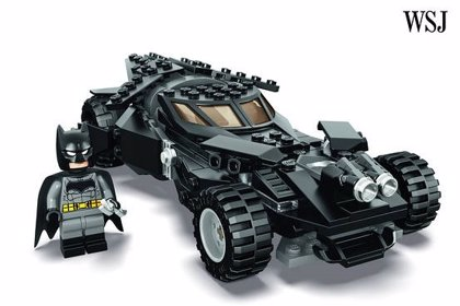 Comic-Con 2015: Revelado el Batmóvil de Lego de Batman v Superman