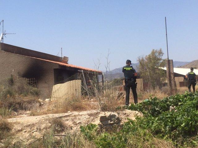 Casa afectada por la explisión en la Vila Joisa