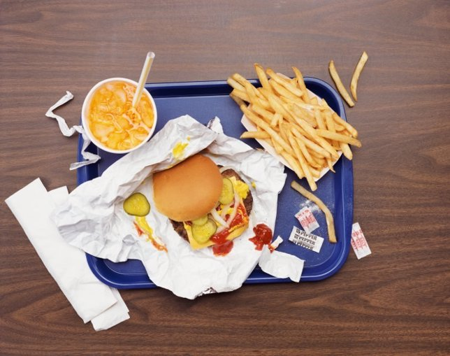 Hamburguesa, comida rápida