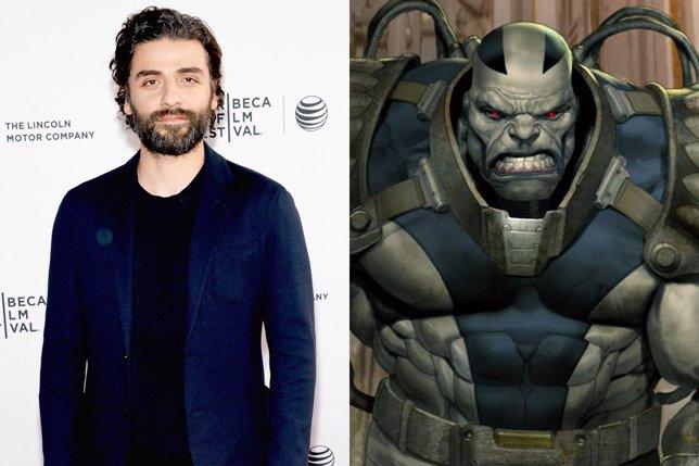 Oscar Isaac como Apocalipsis en  X-Men: Apocalypse