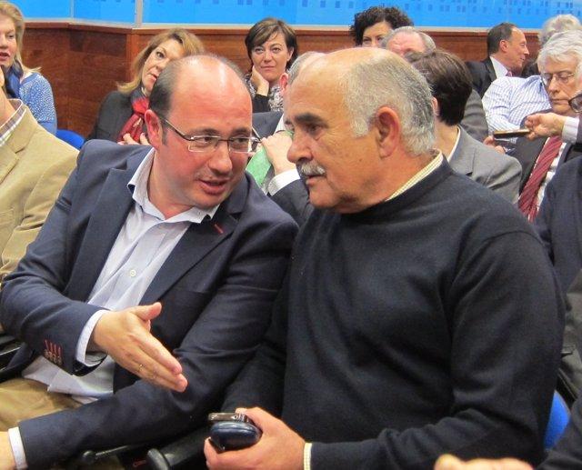 Pedro Antonio Sánchez y Alberto Garre