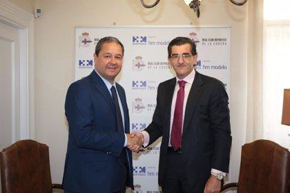El Hospital HM Modelo de A Coruña continuará siendo el centro médico oficial del Real Club Deportivo