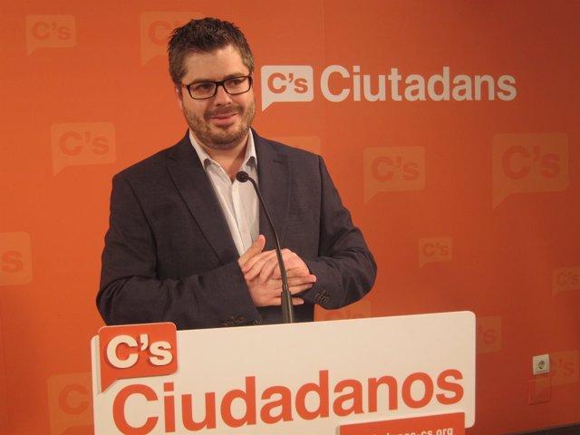 Fran Hervías, secretario de Organización de C's