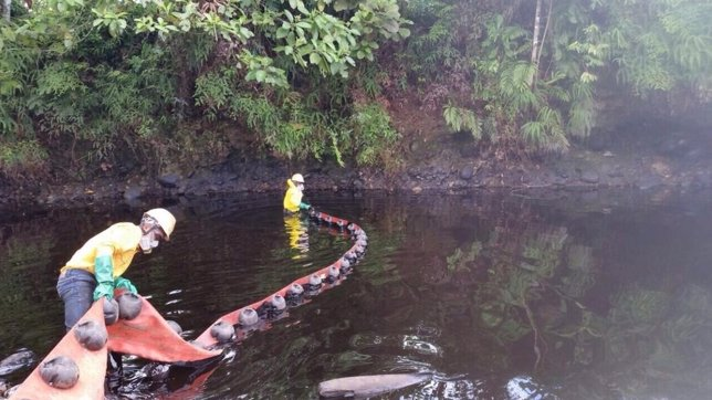 Ecopetrol vertido petróleo Colombia FARC