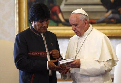 """Morales destaca sus """"enormes coincidencias"""" con el Papa Francisco"""