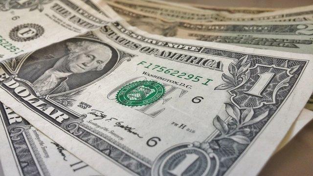 Dólar, dinero, billetes, economía