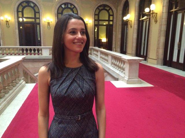 Inés Arrimadas (C's) en el Parlament