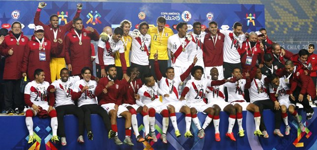 Perú finaliza tercera en la Copa América