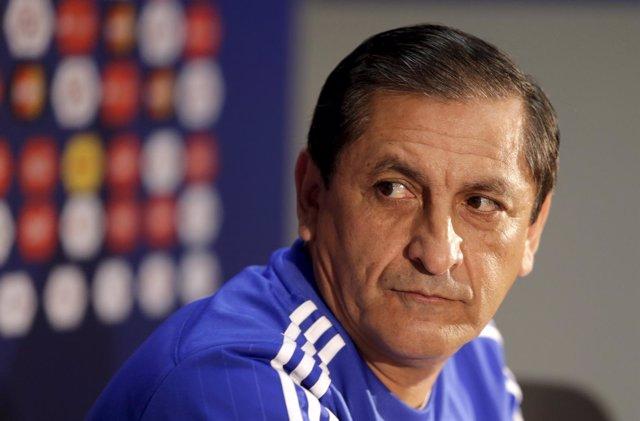 Ramón Díaz, en semifinales de la Copa América Chile 2015