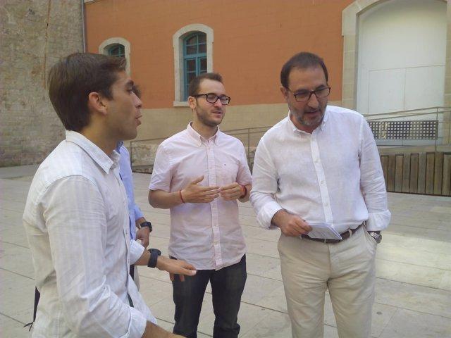 Ramon Espadaler (UDC) este sábado en Barcelona