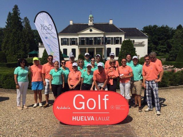 Torneo de golf disputado en Holanda