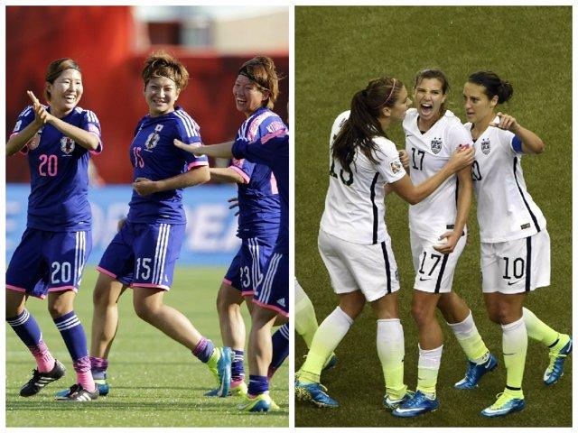 Japón y Estados Unidos pelean por el oro en la final del Mundial femenino