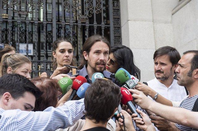 Canutazo de Pablo Iglesias en A Coruña
