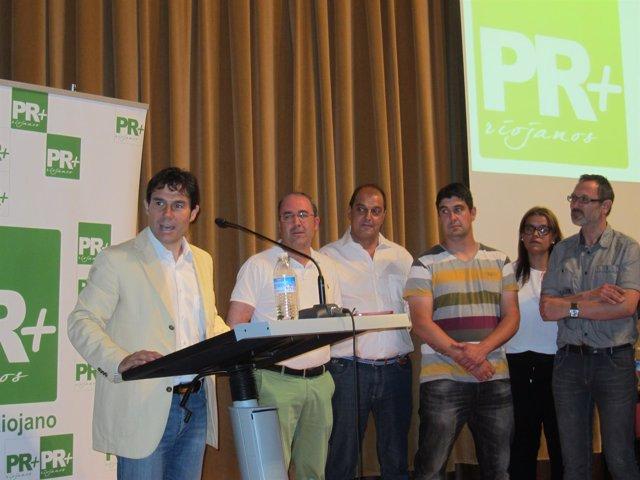 Primer discurso de Fernando Gómez como presidente del PR+
