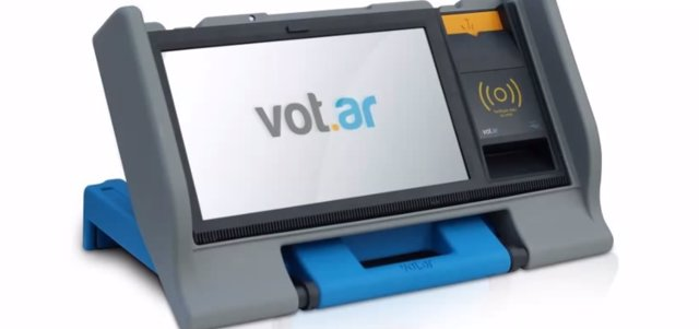 Sistema de votación electrónico