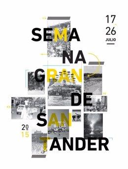 Cartel ganador de la Semana Grande de Santander 2015