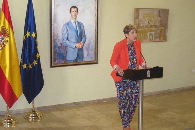 La consejera de Cultura y Portavocía, Noelia Arroyo