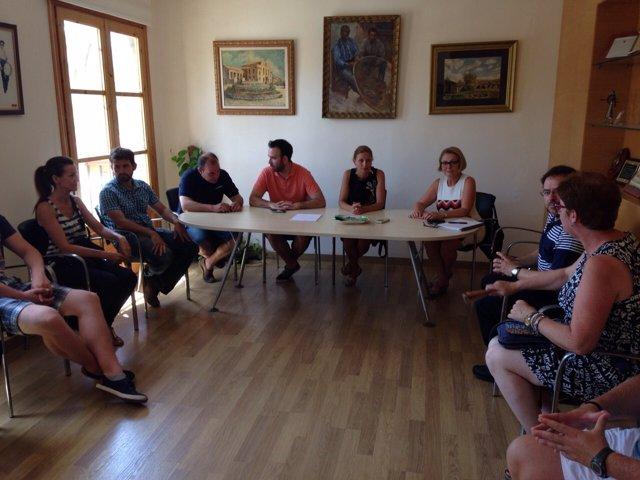 Reunión de urgencia en el Ayuntamiento de Castellón