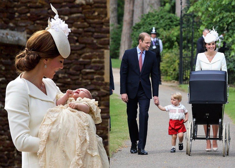 Bautizo Princesa Charlotte Kate Middleton príncipe Guillermo Sandringham