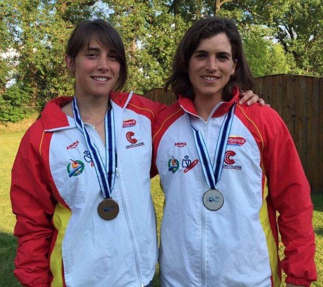Chourraut y Marta Martínez, plata y bronce en la Copa del Mundo de Eslovaquia