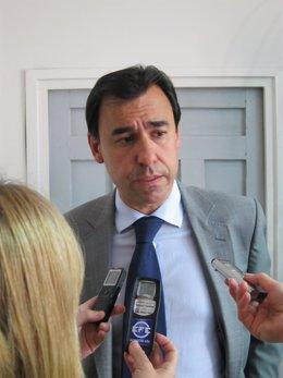 Fernando Martínez Maillo Tras Reunión En La FEMP