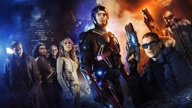 Brutal imagen de Legends of Tomorrow, spin-off de Arrow y The Flash