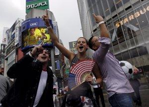 Celebración en Japón USA
