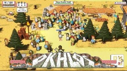 El videojuego argentino 'Okhlos', premiado en la categoría Gameplay