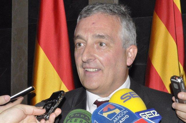 El consejero de Desarrollo Rural y Sostenibilidad, Joaquín Olona.