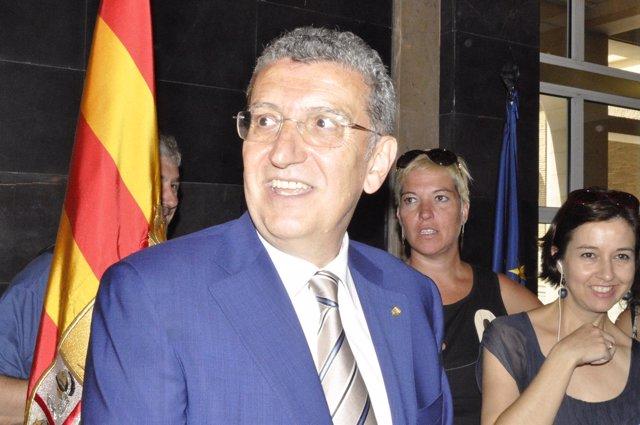 El consejero de Sanidad, Santiago Celaya