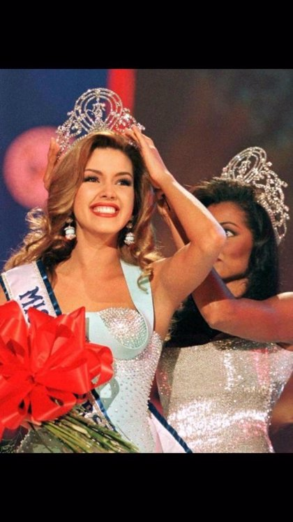 "La ex Miss Universo Alicia Machado llama ""rata nazi"" a Donald Trump"