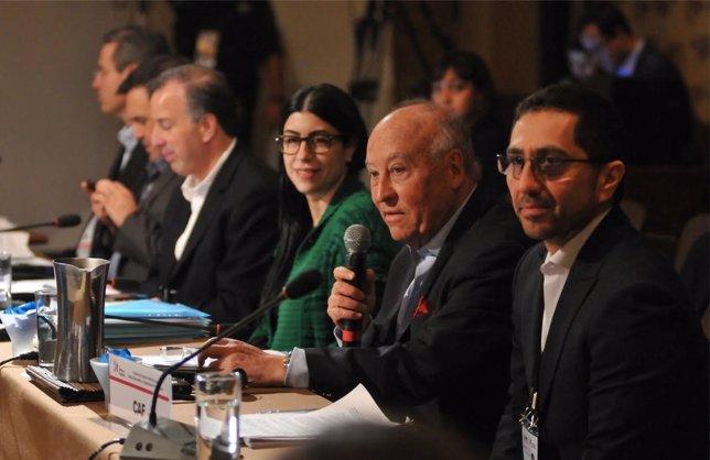 Presidente de CAF en Cumbre Alianza Pacífico