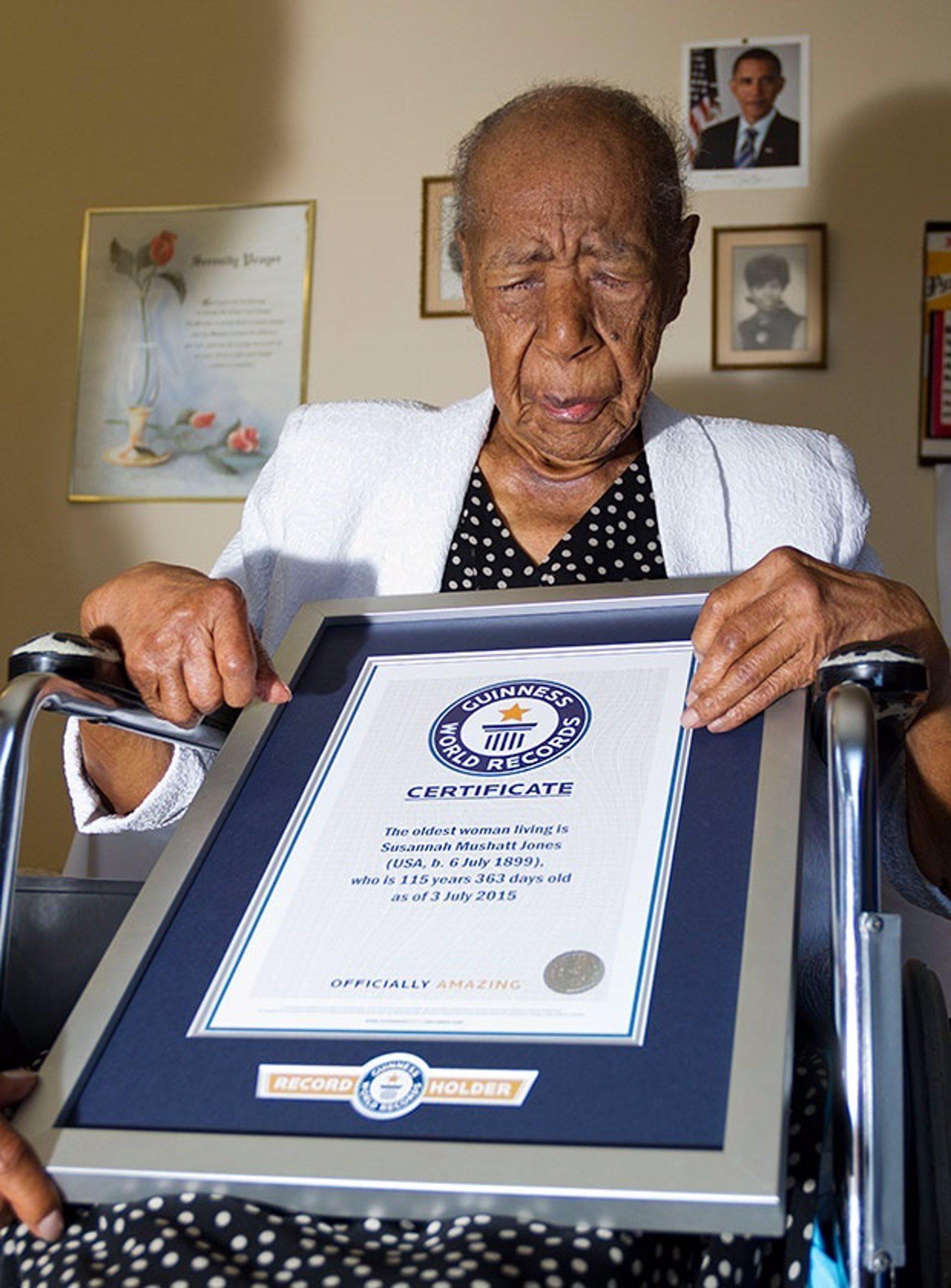 Cumple 116 años la persona más anciana del mundo