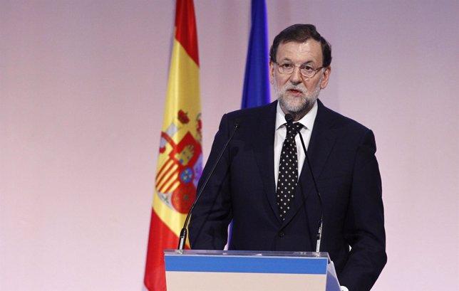Mariano Rajoy en el aniversario del diario Expansión