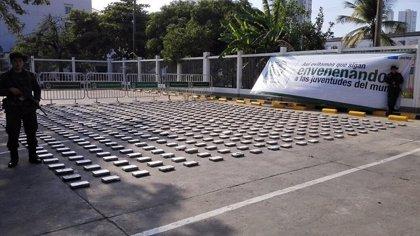 Confiscadas en Colombia tres toneladas de cocaína con destino a cárteles mexicanos