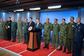 Santos anuncia importantes cambios en la cúpula militar