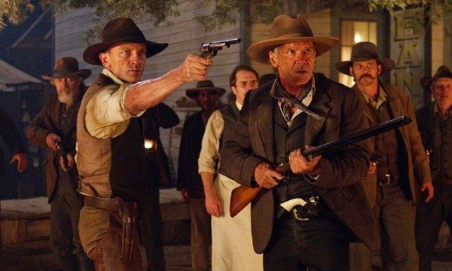 Fotograma de la película Cowboys & Aliens