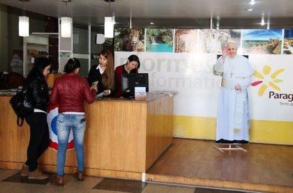 """Paraguay espera una """"masiva"""" llegada de turistas por la visita del Papa"""