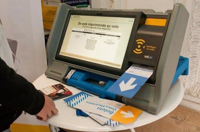 Voto electrónico en Buenos Aires