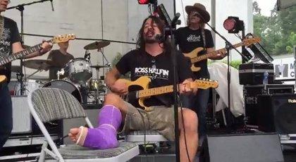 Vídeo: Dave Grohl versiona a Neil Young con miembros de Pearl Jam y Blind Melon