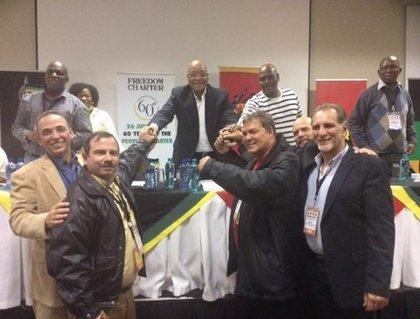 Tres de 'Los Cinco' de Cuba cierran su viaje africano en Angola