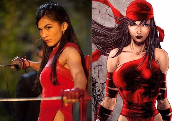 Daredevil encuentra a su Elektra: Elodie Yung
