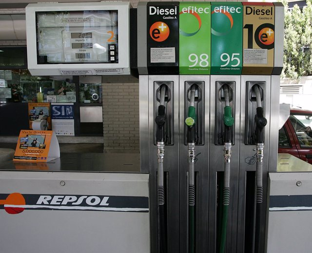 Gasolinera de Repsol