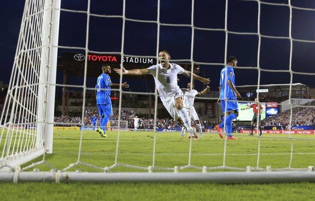Dempsey marca en el Estados Unidos - Honduras de la Copa Oro