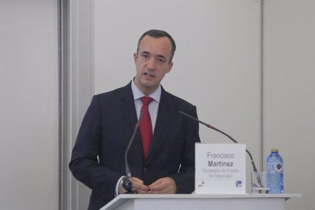 Francisco Martínez en una conferencia sobre ciberseguridad