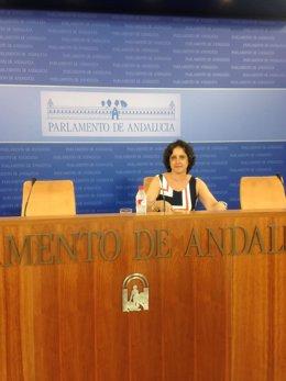 La diputada y portavoz de Salud del grupo parlamentario popular, Catalina García